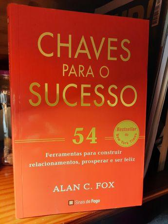 Livro 'chaves para o sucesso'