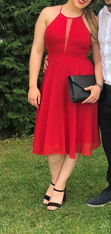 Vestido cerimónia vermelho S/M