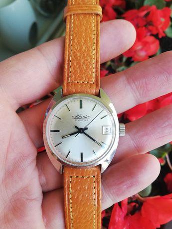 Zegarek Atlantic 17J z datą piękny stan