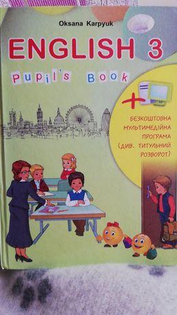 Продам підручники з англійської мови, автор Карпюк О.