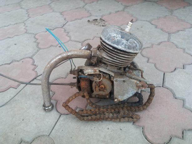 двигатель на мотовелосипед д-6