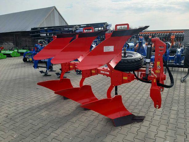Pług Obracalny Obrotowy 3 4 5 Skibowy AKPIL MIXDUE KM80R KM80HP KM180R