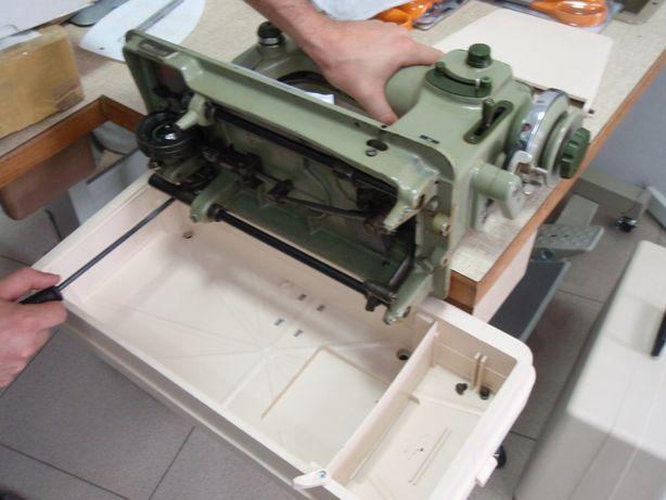 Reparação e afinação máquinas de costura e sacos