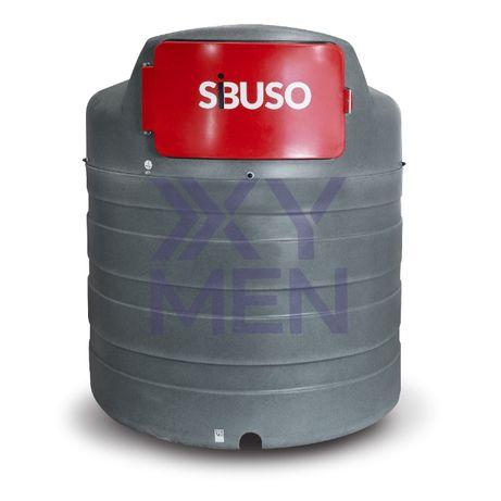 Zbiornik na paliwo SIBUSO METRIA 2500L dwupłaszczowy na rope diesel ON