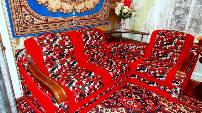 раскладной мягкий диван-уголок