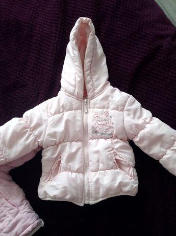Курточка дитяча на 1 рік для дівчинки