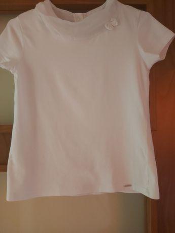 Biała bluzka apel coccodrillo 146 152