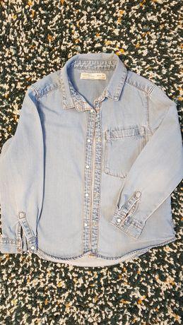 Koszula jeans Zara 116 / 6 lat