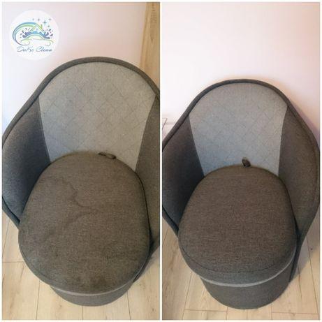 Mobilne pranie krzeseł tapicerowanych, foteli, puf, podnóżków