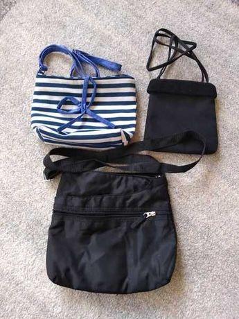 Trzy torebki dla dziewczynki/nastolatki.