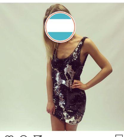 sukienka Lou cekinowa L
