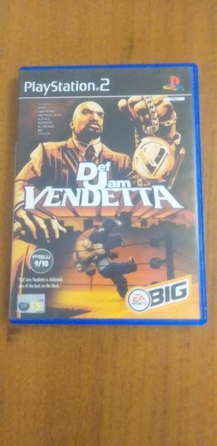 Gra na konsolę ps2  Def Jam Vendetta