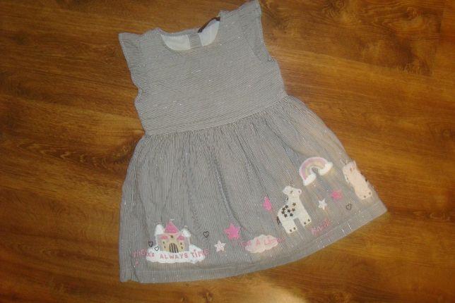George Платье нарядное сарафан платьице для девочки 3 лет 98