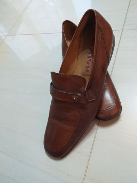 Skórzane męskie buty muratti