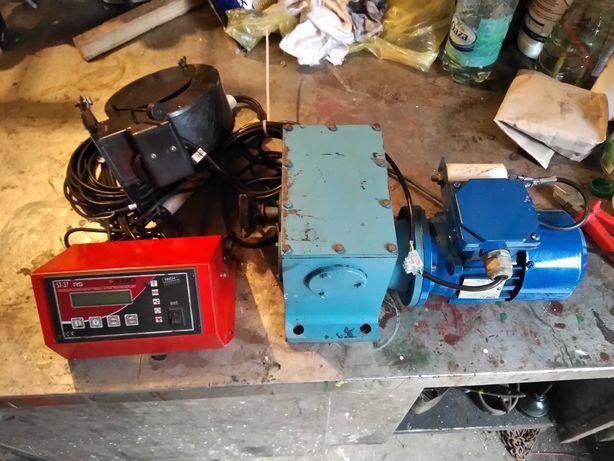 Sterownik pieca Tech St 37 RS, motoreduktor, wentylator