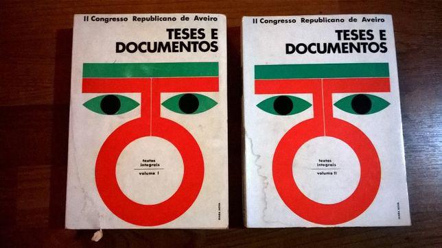 ll Congresso Republicano de Aveiro - Teses e Documentos