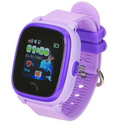 Smartwatch Garett Kids 4 fioletowy - nowy