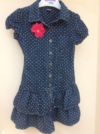 Платье глория джинс рост 104