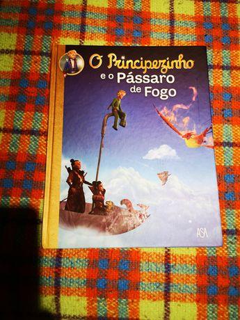Livro O Principesinho e o Pássaro de fogo
