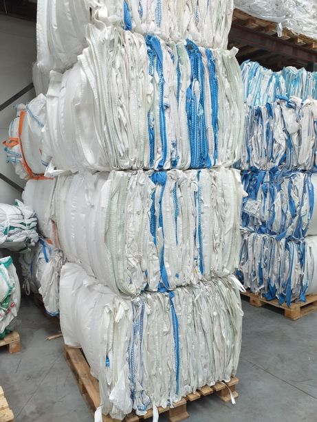 BIG BAG na gruz i węgiel mocna tkanina 130 cm