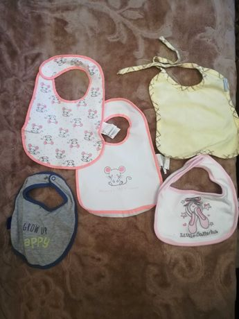 Śliniaki apaszki dla niemowląt