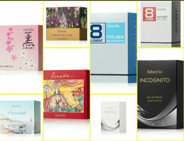 Ароматы Faberlic, готовим подарки),Donna, kaori, promenade,Feerique se