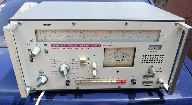 Прибор: Селективный микровольтметр  2