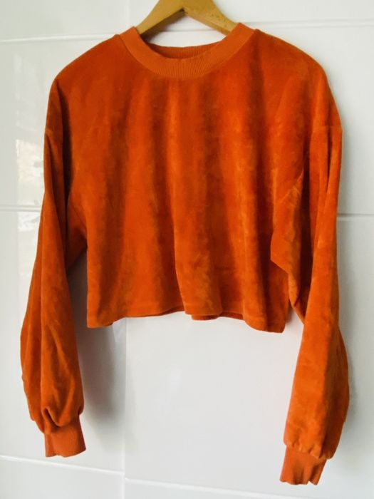 Pomarańczowa bluza Bershka, S Kamienna Góra - image 1