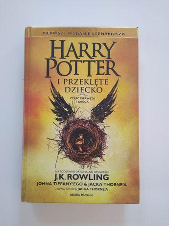 Książka Harry Potter i Przeklęte Dziecko twarda oprawa
