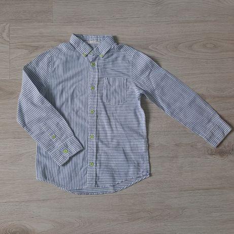 Koszula paseczki dla chłopca r 116