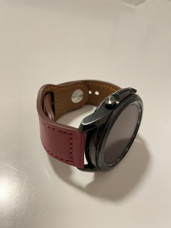 Ремешок кожаный 22мм для Samsung Galaxy Watch Huawei GT