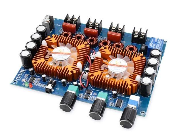Bluetooth 5,0 цифровий підсилювач потужності плата 160 Вт * 2 + 220 Вт