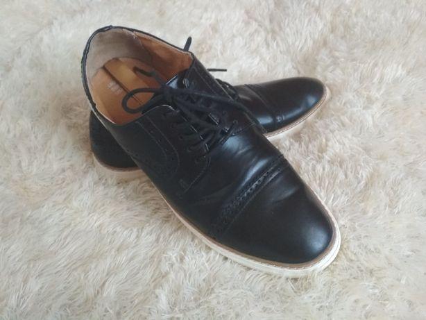 Buty męskie modne Primark 42 czarne