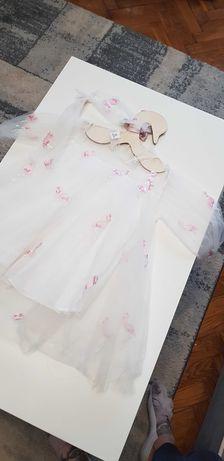 Плаття з фламінго 104