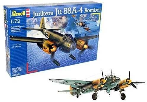 Revell 04672 German medium bomber Junkers Ju88 A-4