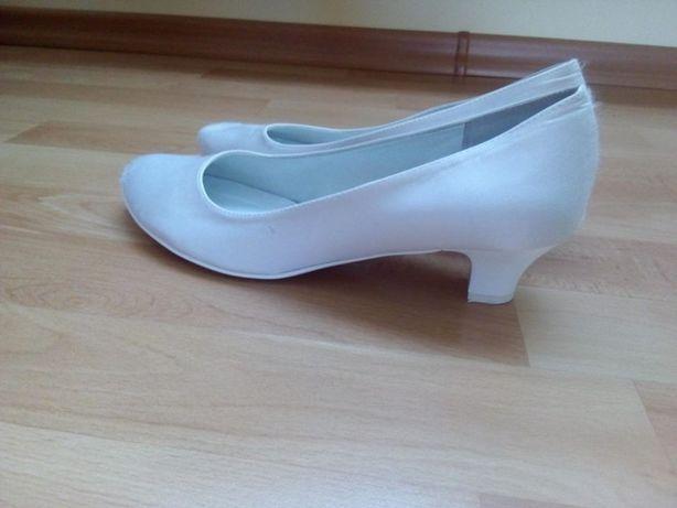 Sprzedam buty ślubne + podwiązki