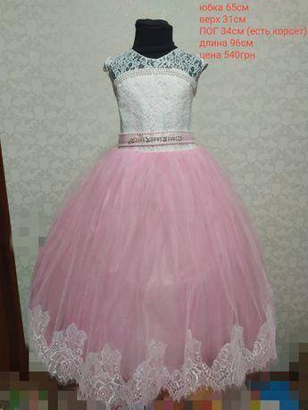 Новогоднее платье для девочки,нарядное платье детское, бальное платье
