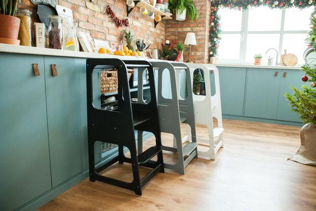 Кухонная башня Монтессори Башня помощник детский стол,стул 2в1