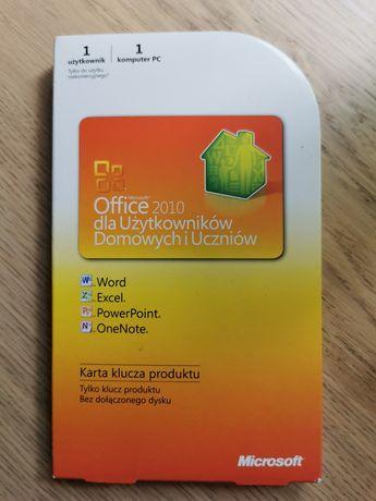 MS Office 2010 dla Użytkowników Domowych i Uczniów - 1 komputer