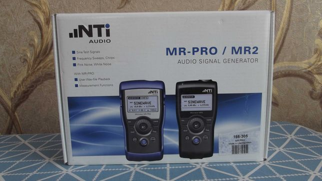 Генератор NTi Audio Minirator MR Pro
