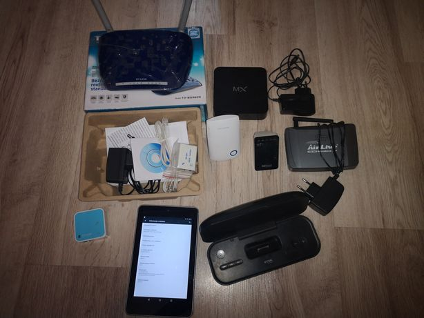 Tablet Asus, Router TP-link , MX hd18d