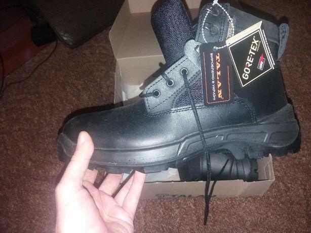 Ботинки мужские TALAN кожа 45 размер черные GORETEX утепление, подошва