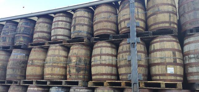 Beczka drewniana beczki po whisky po winie dębowa szczelna