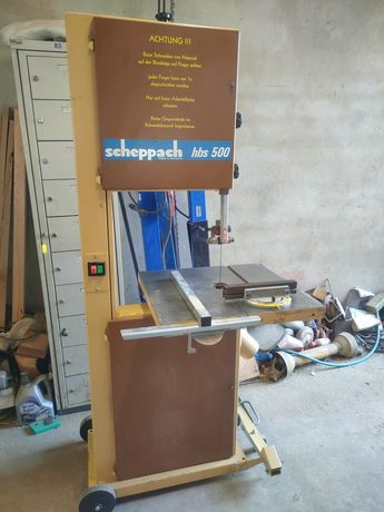 Piła taśmowa do drewna Scheppach (nie E Beckum) HBS 500, 450 mm, 380v