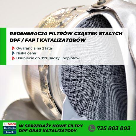 Filtr Cząstek Stałych DPF FAP Ford Galaxy Mk3 S-Max Lift / Regeneracja