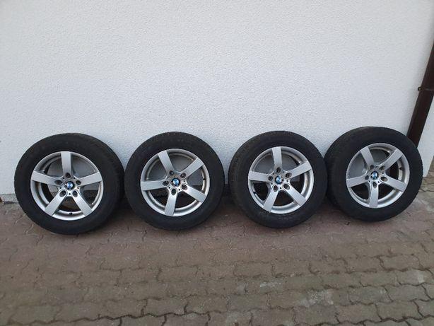Koła, felgi BMW E60 E61, 7x16 ET20, 5x120, opony zimowe 225/55 R16