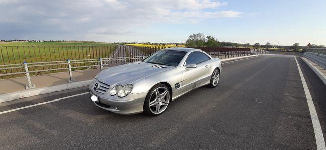 Wynajem do ślubu  , auto do ślubu  Mercedes Sl 500