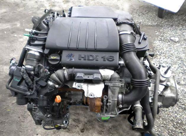 Kompletny silnik 1.6 HDI Peugeot Citroen Ford Fiat