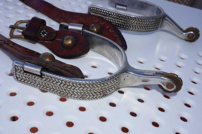 Esporas de equitação Western. Fabricado nos EUA