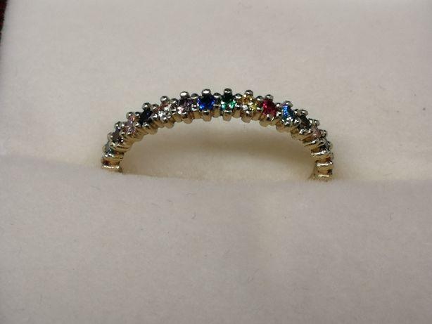 Piękny pierścionek złoty 14K